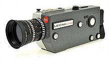 LEICA SUPER MOVIE CAMERA NO. 072630 WITH INSTRUCTION MANUAL, CONDITION: 5