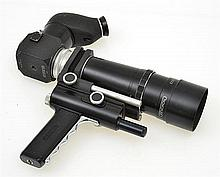 NOVOFLEX WITH BELOWS AND PRISMATIC VIEWER WITH NOVOFLEXAR NO. 245532 4.5 240MM LENS AND INSTRUCTIONS, CONDITION: 6