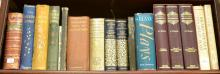 A SHELF OF LITERARY REFERENCES INCLUDING BEETON'S GREAT BOOK OF POETRY, THREE VOLUMES OF THE GIRL'S OWN ANNUAL, JOHN BERGER WAYS OF .