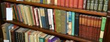 A SHELF OF REFERENCES CONTAINING WORKS ON LITERATURE AND POETRY (49)
