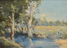 RAYMOND WALLIS, (1900-1963) LANDSCAPE