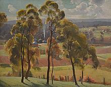ALBERT ERNEST NEWBURY, (1891-1941) THE APPROACH OF SPRING