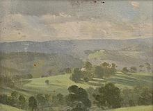 ALBERT ERNEST NEWBURY, (1891-1941) VALLEY SHADOWS