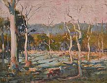 ALBERT ERNEST NEWBURY, (1891-1941) EVENING GLOW