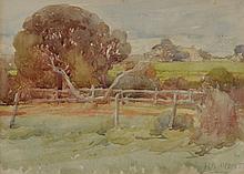 HAROLD BROCKLEBANK HERBERT, (1891-1945) COUNTRY FIELD