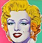 ARTIST UNKNOWN (BORN 20TH CENTURY) Marilyn Monroe mixed media on canvas