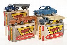 4 X MIDGET TOYS CO. INCLUDING VESPA 400;