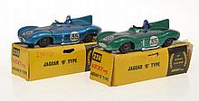 2 X NICKY TOYS 238 JAGUAR 'D' TYPE'S,