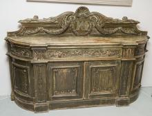AN IMPRESSIVE LATE 19th CENTURY FRENCH SIDEBOARD