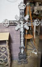 A 19th CENTURY FRENCH CRUCIFIX