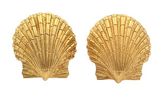 A PAIR OF EARRINGS BY TIFFANY & CO
