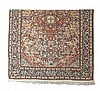 A FINE EARLY/MID 20TH CENTURY PART SILK TABRIZ CARPET, NORTH WEST PERSIA