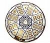 JOSEPH LOBMEYR PERSIAN ENAMELLED GLASS CHARGER, VIENNA CIRCA 1878