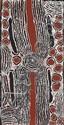 NINGURA NAPARRULA (BORN CIRCA 1938) Rockhole Site at Wirrulnga 2008 acrylic on linen