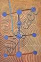 GIDEON JACK TJUPURRULA (CIRCA 1928-1996) Walatu Mamaku Tjukurrpa, Lake Mackay 1995 synthetic polymer paint on linen