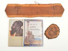 A SELECTION OF ALBERT NAMATJIRA EPHEMERA  i) Strehlow, T. G. H., Rex Battarbee, Legends Press ii) Mountford, C. P., The Art of Alber...