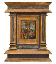 ANTWERP SCHOOL (16th century) The Deposition of Christ oil on copper