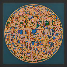 ALUN LEACH-JONES (born 1937) Noumenon XVI, Moving Through 1967-68 acrylic on canvas