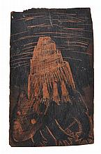 BRUCE ARMSTRONG (born 1957) Wombat 1989 incised wood