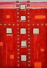 YVETTE SWAN (born 1970) All Connected 2005 oil and graphite on canvas