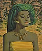 VLADIMIR TRETCHIKOFF (SOUTH AFRICAN, 1913-2006) Balinese Girl poster print
