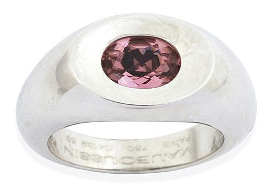 A TOURMALINE RING BY MAUBOUSSIN