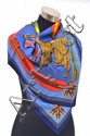 A SILK SCARF BY HERMES