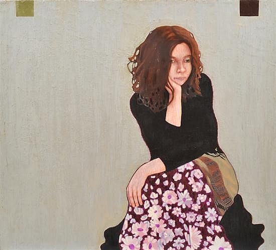 TONY CRAN (BORN 20TH CENTURY) Silver Screen 2001 oil on canvas