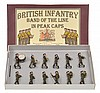 BRITAINS SETS INCLUDING NO.1290 BRITISH INFANTRY BAND OF THE LINE IN PEAK CAPS