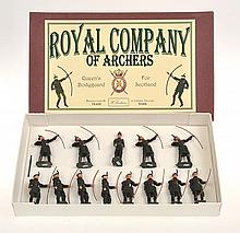 BRITAINS SET 2079 ROYAL COMPANY OF ARCHERS