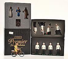 4 X MODERN BRITAINS PREMIER MODEL COLLECTION CREATED BY CHARLES BIGGS, INCLUDING 9908;