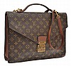 A PORTFOLIO BAG WITH SHOULDER STRAP BY LOUIS VUITTON
