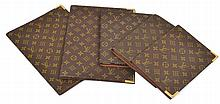 A GROUP OF JOURNAL AND DIARY COVERS BY LOUIS VUITTON