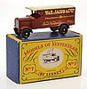 RARE MATCHBOX MODELS OF YESTERYEAR Y7 1918 LEYLAND 4-TON VAN