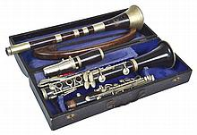 A CASED CLARINET