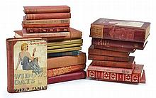 A LARGE QUANTITY OF DECORATIVE BINDINGS