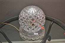 A DECORATIVE CRYSTAL LAMP