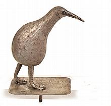 STERLING KIWI MOUNT, ENSCRIBED FROM HELMA APRIL
