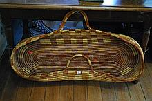 AN ABORIGINAL BABY BASKET