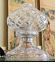 CRYSTAL ELECTROFIED MUSHROOM LAMP (FAULTS)
