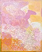 SARAH DANIELS NAPANANGKA (BORN 20TH CENTURY) Mina Mina 2009 acrylic on canvas