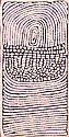 NARRABRI NAKAMARRA (1950 -2010) Untitled (Rockhole & Sandhills) 2003 acrylic on linen
