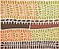 MITJILI NAPURULLA (BORN CIRCA 1930) Untitled acrylic on linen