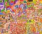 MAUREEN THOMPSON (BORN 1931) Burial Ground Place 2004 acrylic on canvas