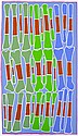 DJAMBO (SAMBO) BARRA BARRA (BORN 1936) Bones no. 2 2003 acrylic on linen