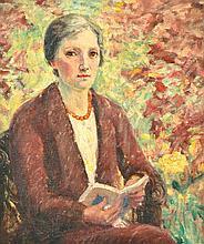MARIE TUCK (1866-1947) Self Portrait oil on canvas
