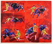 LEROY NEIMAN (American 1921-2012) The Bullfighter serigraph in colours, ed.43/300