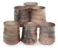 STONEWARE TUMBLERS BY COL LEVY
