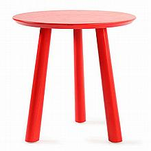 A JARDAN OLBA CIRCULAR SIDE TABLE