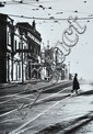 MARK STRIZIC (BORN 1928) Swan Street, Richmond, at Church Street 1963/1998 silver gelatin photograph